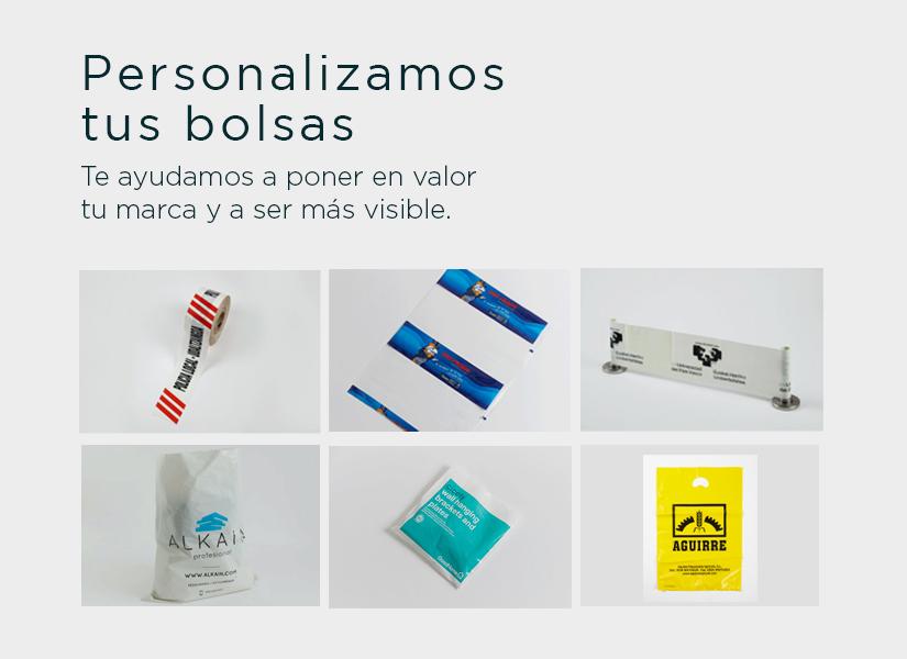 Bolsas personalizables Pasaiplás