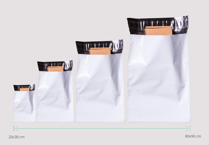 sobres de envío de plástico a medida