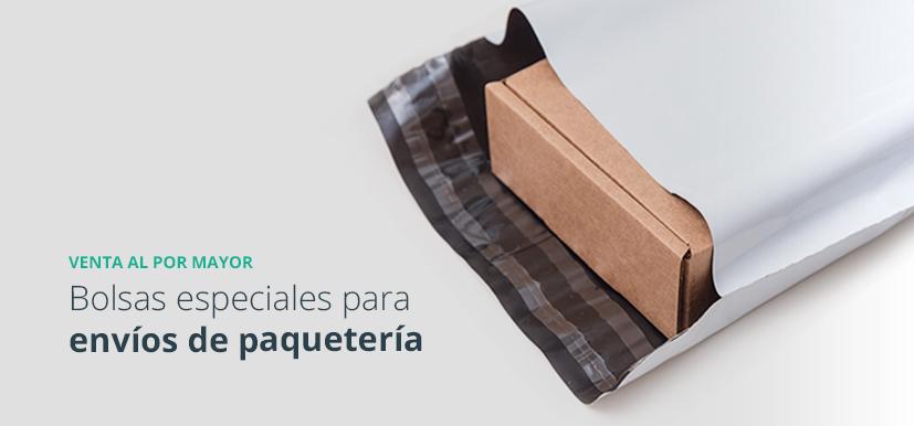 sobres y bolsas de plástico para envíos