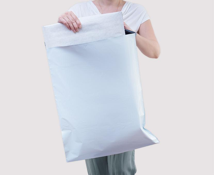 Bolsas de envío de plástico pequeñas, medianas y grandes económicas y resistentes