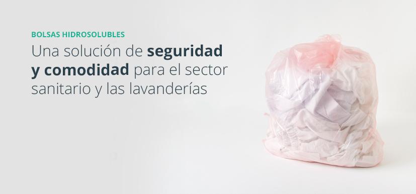 Las bolsas hidrosolubles mejoran la higiene y la seguridad de los trabajadores